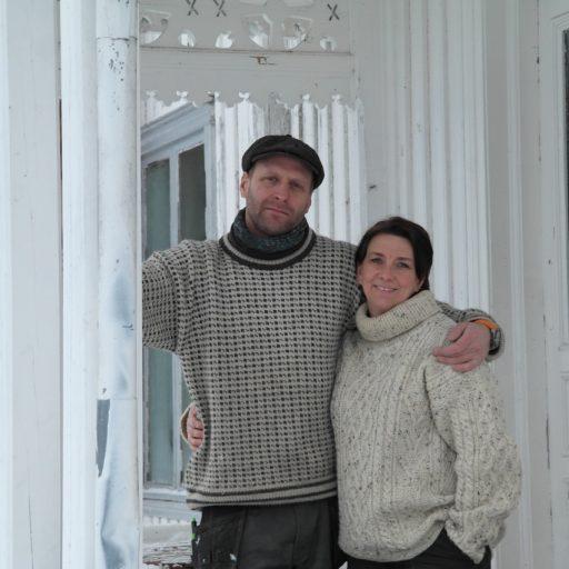Lars og Victoria Munthe-Kaas er Historiske Hus