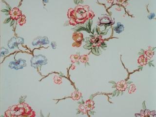 Tidlig 1900 talls blomstertapet