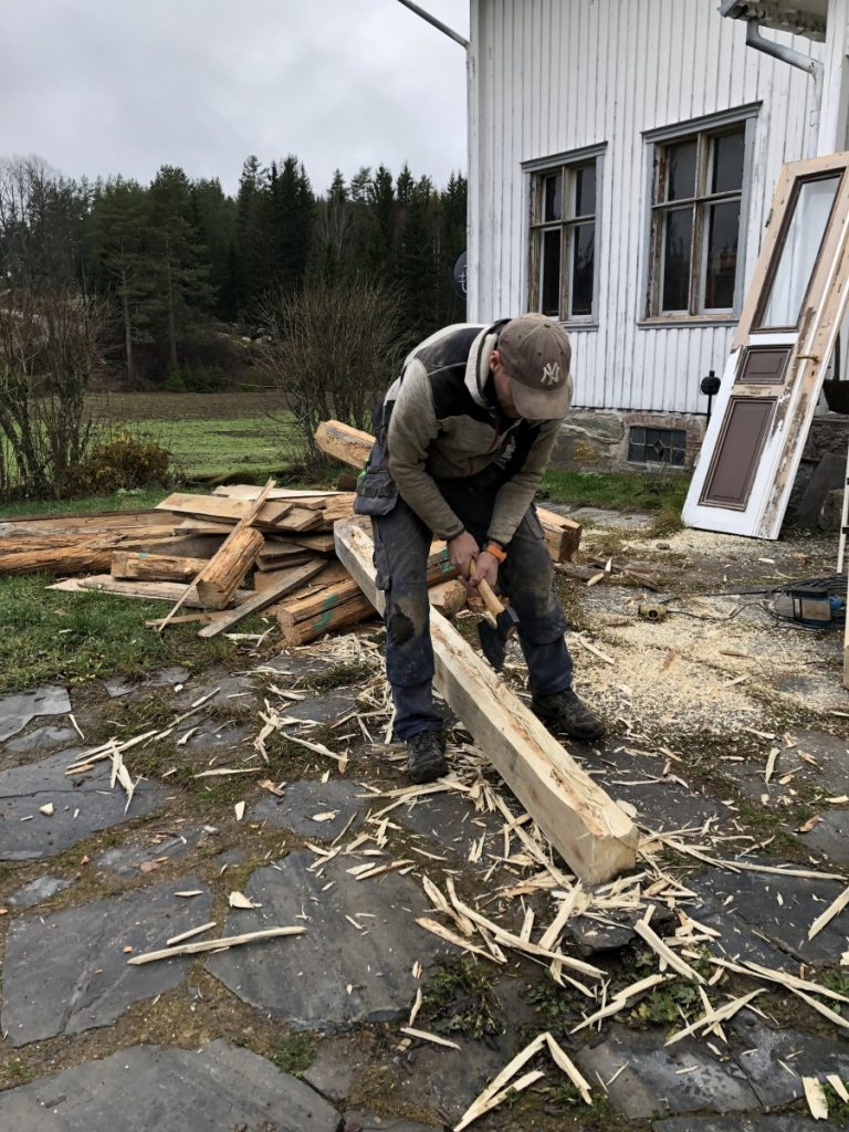 Nye gulvstokker lages